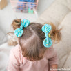 Pack infantil de diadema con lazo + 2 coleteros con lazo Beter - Aguacates