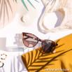 Gafas de sol de inyección - Carey + Rosa