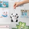 Porte-clés peluche squishy - Panda