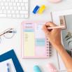 Agenda classique petit format 2021 Modèle semainier - Des rêves, des réussites et des projets