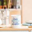 """Mug """"You are a great father and a super grandfather"""" (ENG)"""