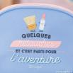 Trousse de toilette - Quelques retouches et c'est parti pour l'aventure (FR)