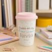 """Mug take away """"Crois en toi et tout le reste suivra"""" (FR)"""