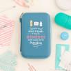 Trousse à pharmacie - Aucun mal n'est éternel et tous les remèdes sont dans cette trousse (FR)