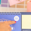 Calendrier de bureau 2018 - 2018 sera une année pleine de petits moments et de grands projets (FR)