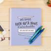 Kit livre + stylo - Des choses rien qu'à nous et autres broutilles (FR)