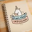Cahier couleur - Rien n'est impossible (FR)