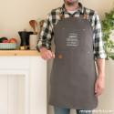 Set cadeau pour les papas cuisiniers avec des chaussons pointure 44-47