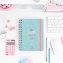 Set avec agenda classique 2019-2020 semainier - Mes projets, rendez-vous et idées