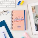 Set avec agenda classique petit format 2021 Modèle semainier - Des rêves, des réussites et des projets