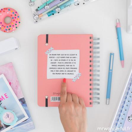 Agenda sketch 2018 - 2019 Journalier - Tout ce qui était pour avant-hier (FR)