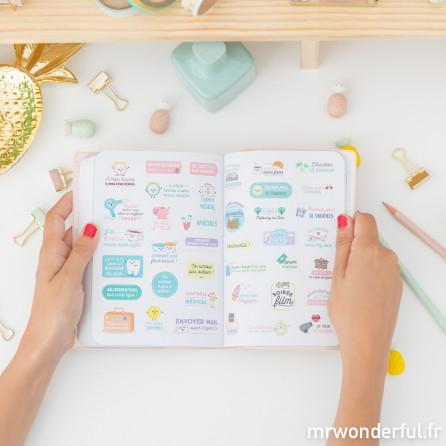 Agenda annuel petit modèle 2018 Journalier - Rêve en grand (FR)