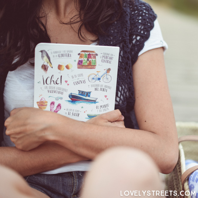 Caderno Lovely Streets - Lo que me enamora de Valencia