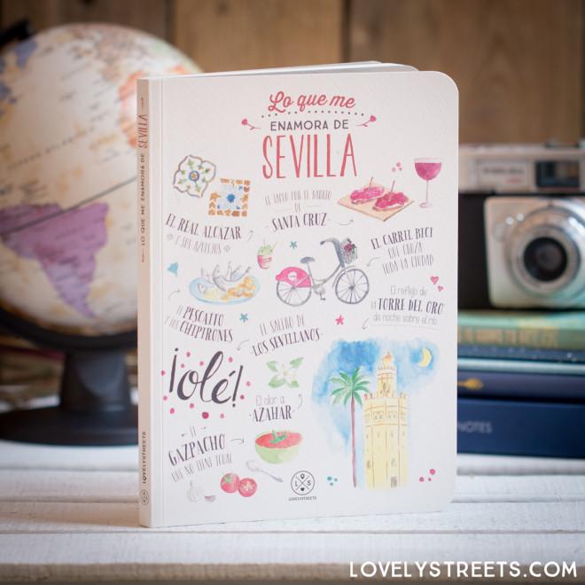 Caderno Lovely Streets - Lo que me enamora de Sevilla