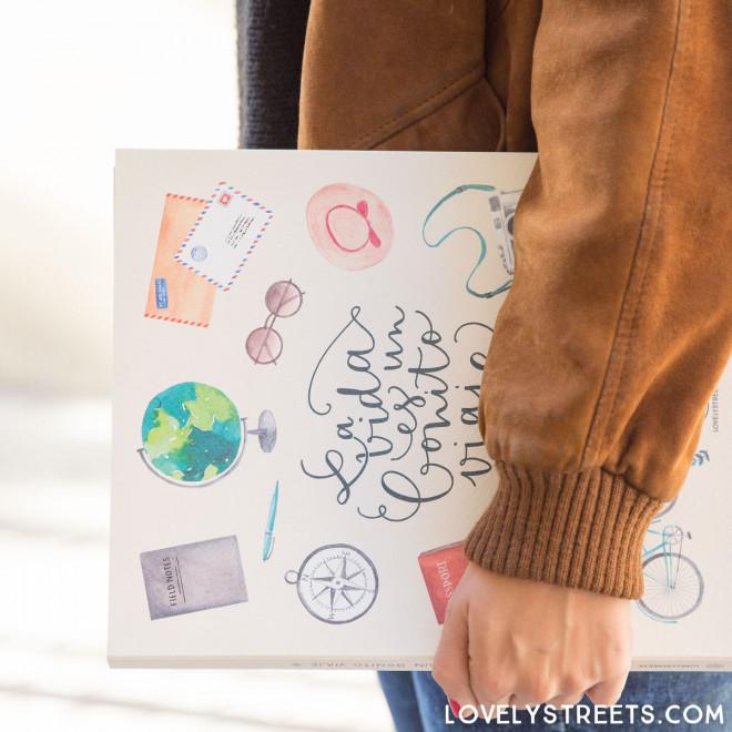Livro Lovely Streets - La vida es un bonito viaje