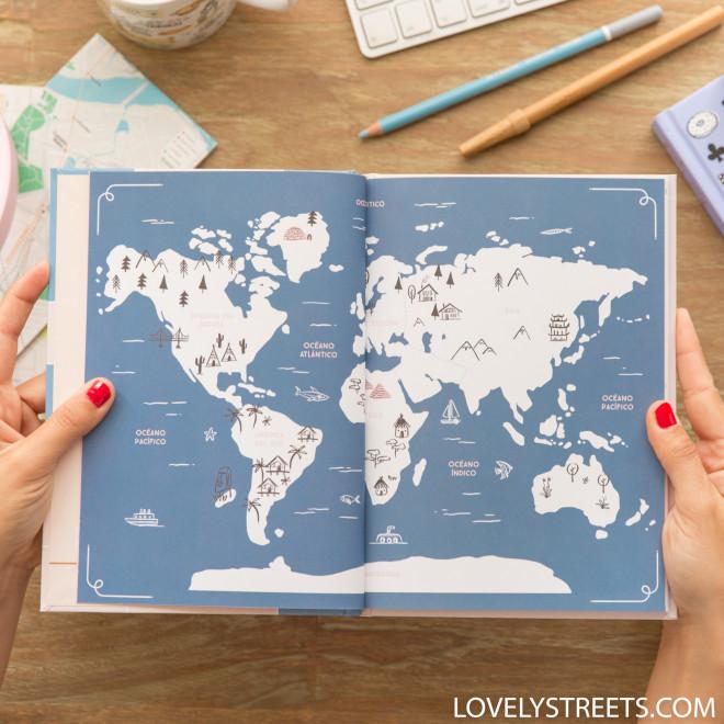 Caderno de viagem - Lovely Streets