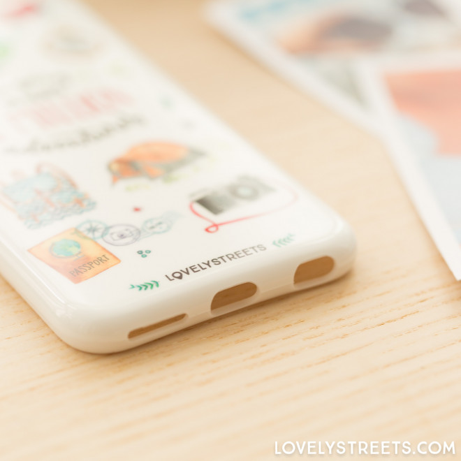 Lovely Streets case for Iphone 6/6S - A million...