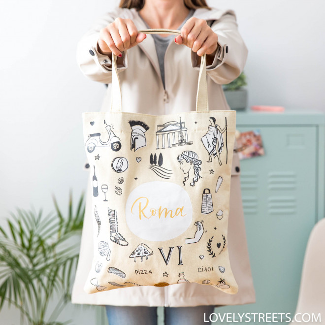 Tote bag Roma - Lovely Streets