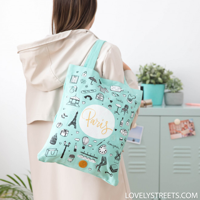 Tote bag Paris - Lovely Streets