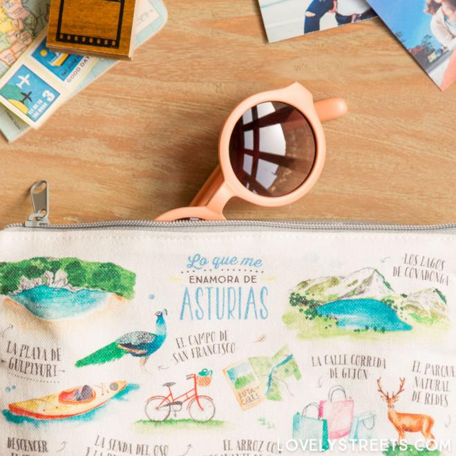 Bolsa Lovely Streets - Lo que me enamora de Asturias