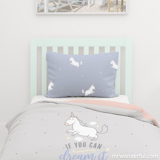 Capa de edredão para cama de 90cm - Have a great day