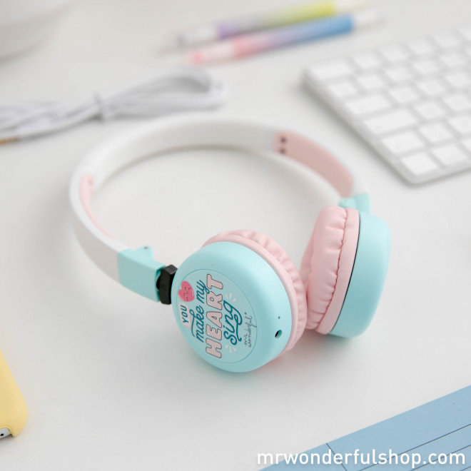 Headphones – You make my heart sing
