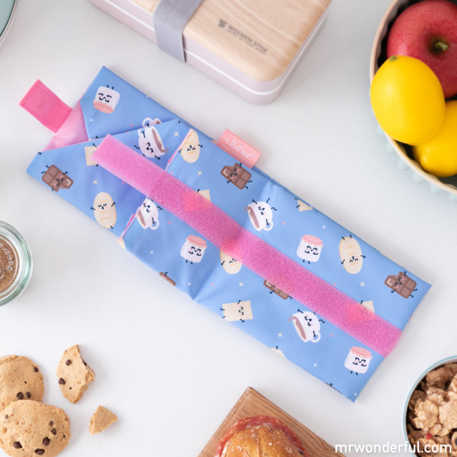 Sandwich roll bag Roll Eat x Mr. Wonderful - Chocolate