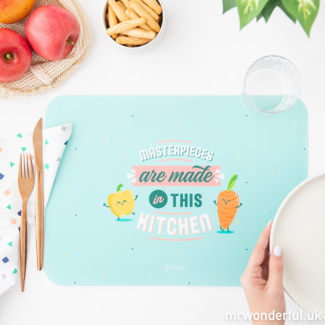 Set of 2 individual placemats