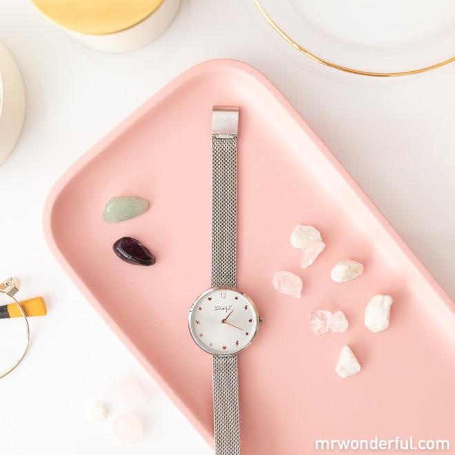 Relógio Icons Collection - Prateado