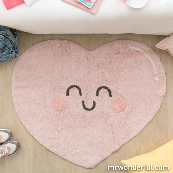 Lorena Canals Washable Rug - Happy Heart