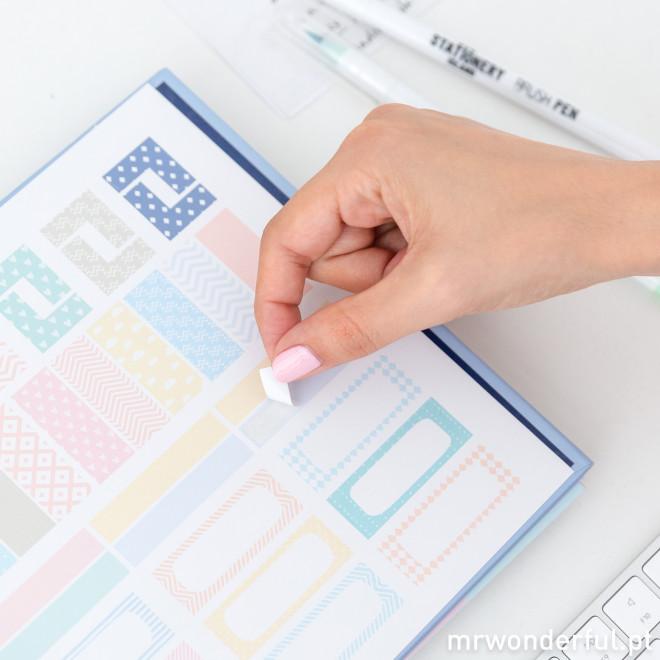 Organizador de estudo - O meu master plan para que este ano letivo seja fantástico