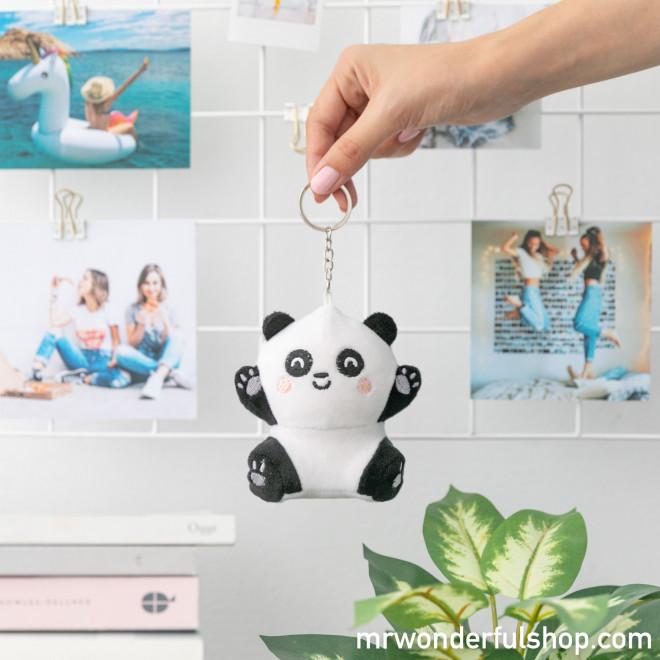 Porta-chaves peluche squishy - Panda