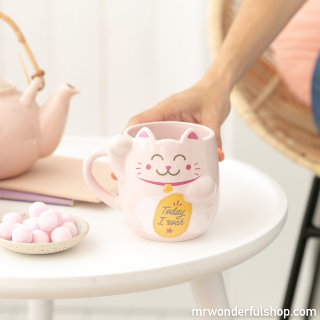 Caneca Maneki-neko - Lucky Collection