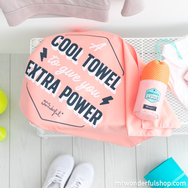Toalla - A cool towel to have extra power