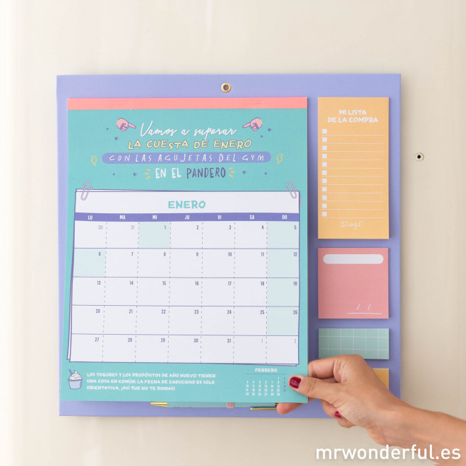 Calendario de pared 2020