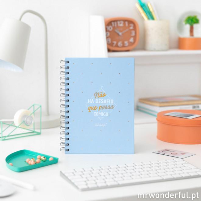 Caderno - Não há desafio que possa comigo