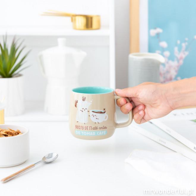 Caneca - Gosto de ti até antes de tomar café