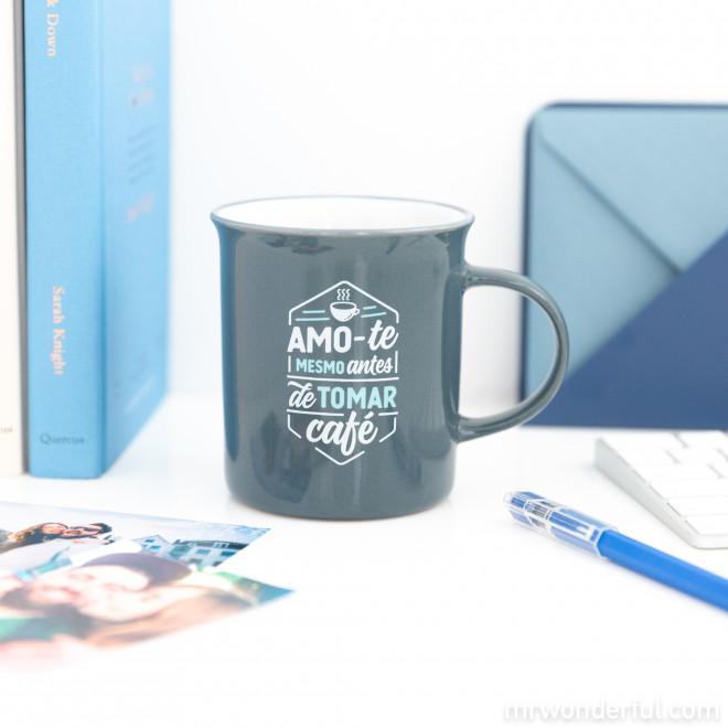 Caneca - Amo-te mesmo antes de tomar café