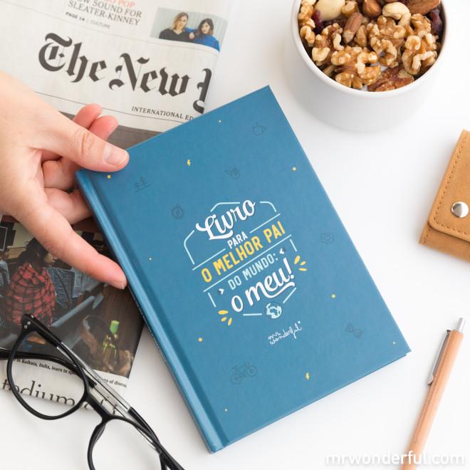 Livro para o melhor pai do mundo: o meu!