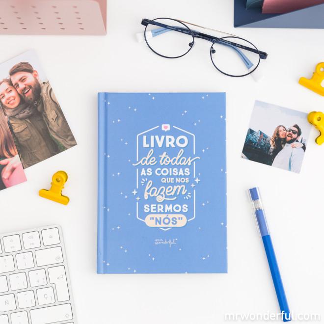 Livro de todas as coisas que nos fazem sermos