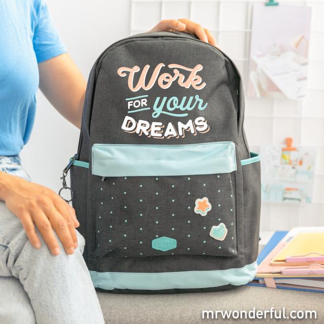 Mochila - Work for your dreams