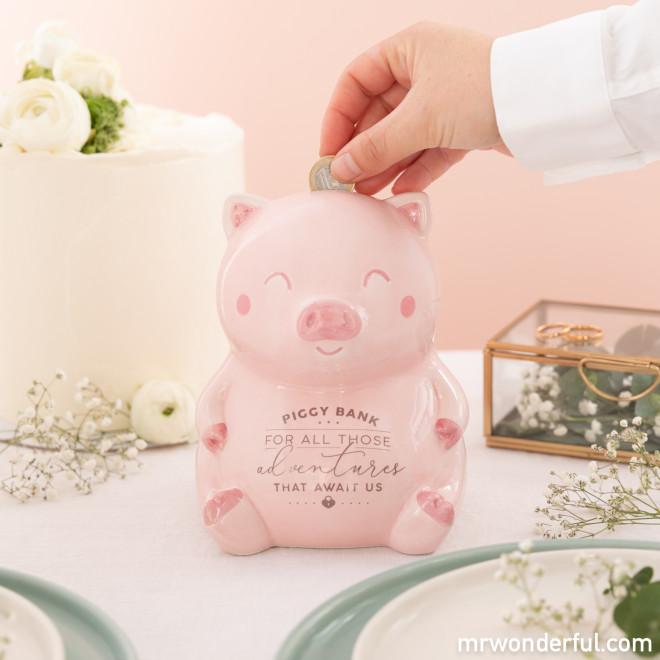 Porquinho Mealheiro - Piggy bank for all those adventures that await us