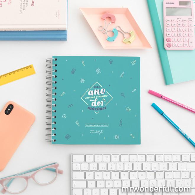 Organizador de estudo