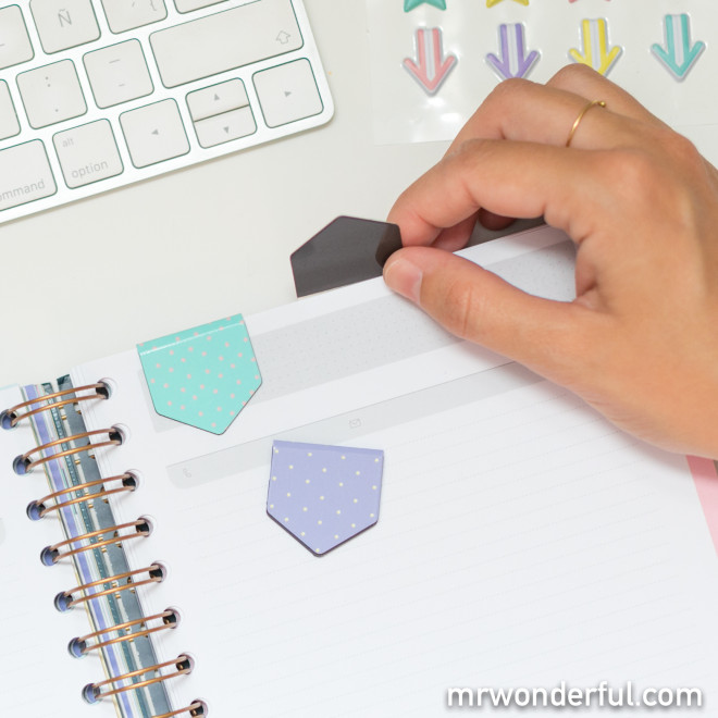Kit para decorar y presumir de agenda