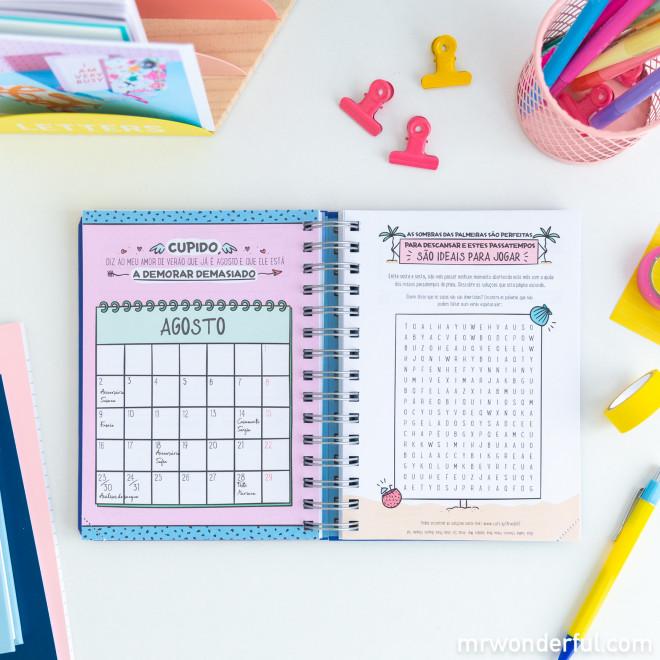 Agenda sketch 2021 Vista diária - Isto vai ser divertido