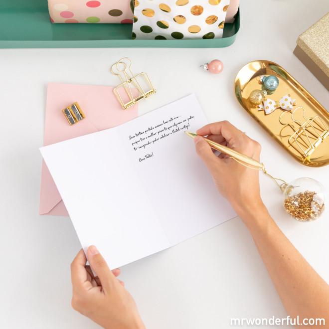 Postal Natal - Neste postal, muita alegria e desejos