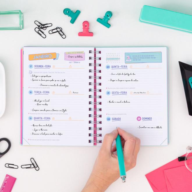 Agenda sketch 2021-2022 Vista semanal - Tarefas para antes do fim de semana