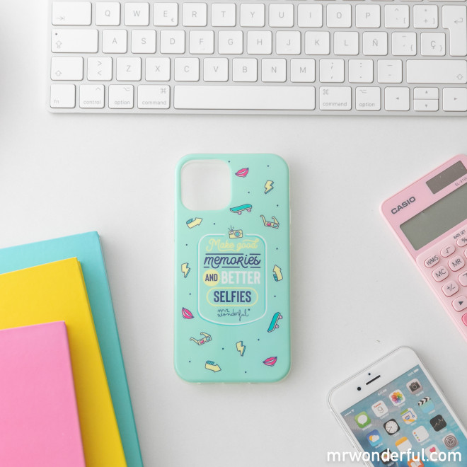 iPhone 12 MR phone case - Make good memories and better selfies