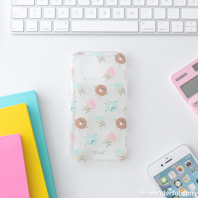 iPhone 12 MR phone case - Cupcake