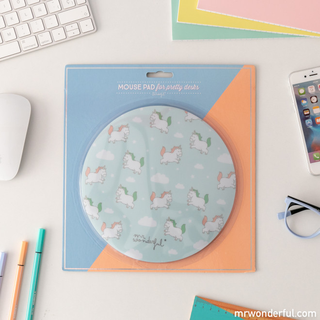 Mouse pad - Unicorns